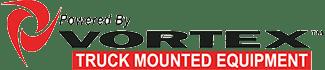 Powered by Vortex Truck Mounted Equipment Logo